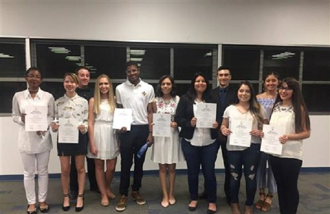 San Tan Foothills Inducts First Honor Society