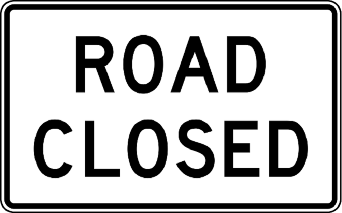 Coppermine Road Closed March 19-20