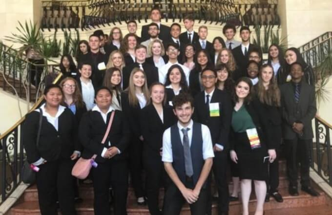 STFHS Shines At Future Business Leaders of America Conference